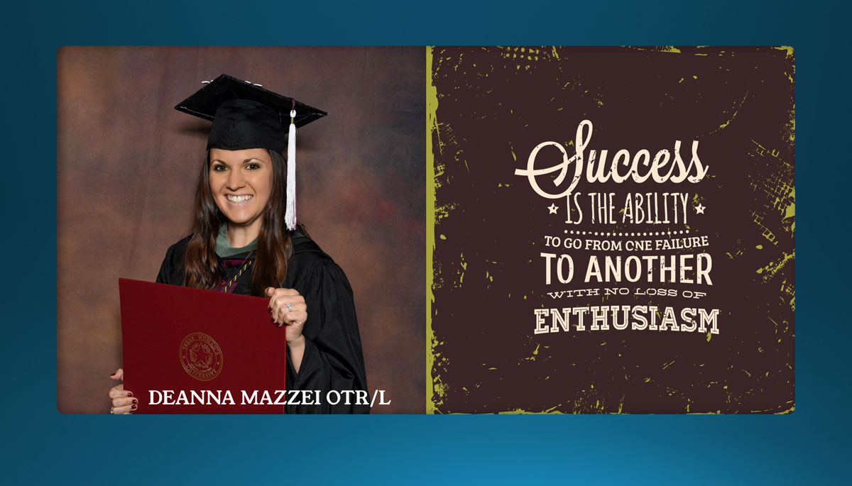 How Others Passed Deanna Mazzei